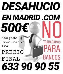 Abogados para desahucio express en Madrid